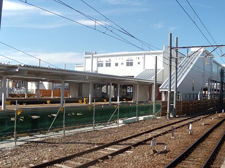 太田川駅仮駅ホーム