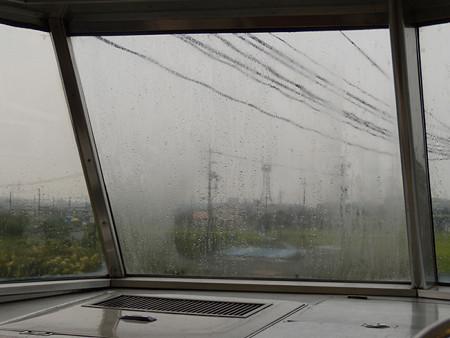 7001F7002展望席曇ったガラス