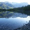 Photos: 池に映る5月の山景