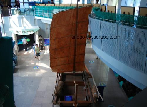 古代の帆船