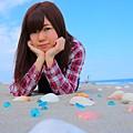 Photos: 海×少女