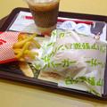 Photos: ロッテリア:野菜バーガーのセット