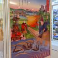 写真: 名鉄バスセンターにあった犬山市の観光ポスター