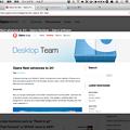 写真: Opera Next 24:新しいタブプレビュー機能を搭載