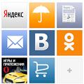 Photos: Yandex Opera Mini 7.0.5:スピードダイヤル