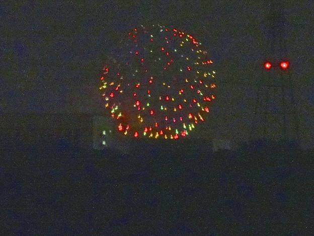 小牧市東部から見えた、「ながくて納涼まつり 2014」の花火 - 12