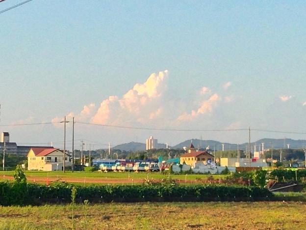 写真: 発達した入道雲 - 1