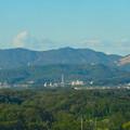 スカイワードあさひ No - 023:展望室からの眺め(弥勒山、道樹山、高座山)
