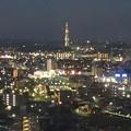 写真: スカイワードあさひ No - 097:展望室からの夜景(瀬戸デジタルタワー)