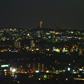 写真: スカイワードあさひ No - 111:展望室からの夜景(東山スカイタワー)