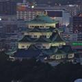 写真: 名古屋テレビ塔からの夜景 No - 10:名古屋城