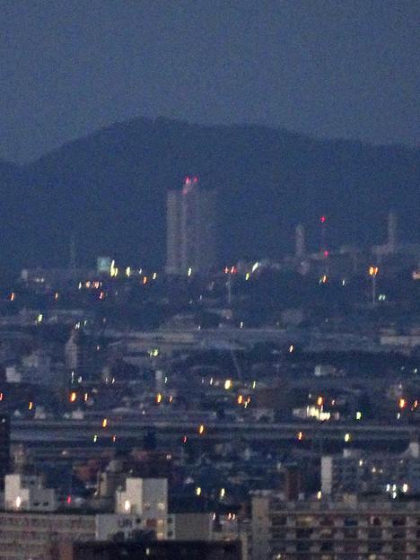 写真: 名古屋テレビ塔からの夜景 No - 13:桃花台ニュータウン・スカイステージ33