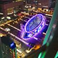 写真: 名古屋テレビ塔からの夜景 No - 48:オアシス21周辺