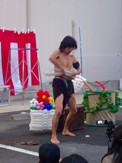 大須大道町人祭 2015 No - 160:アニマル・バルーン「ザーキー岡」さんのパフォーマンス