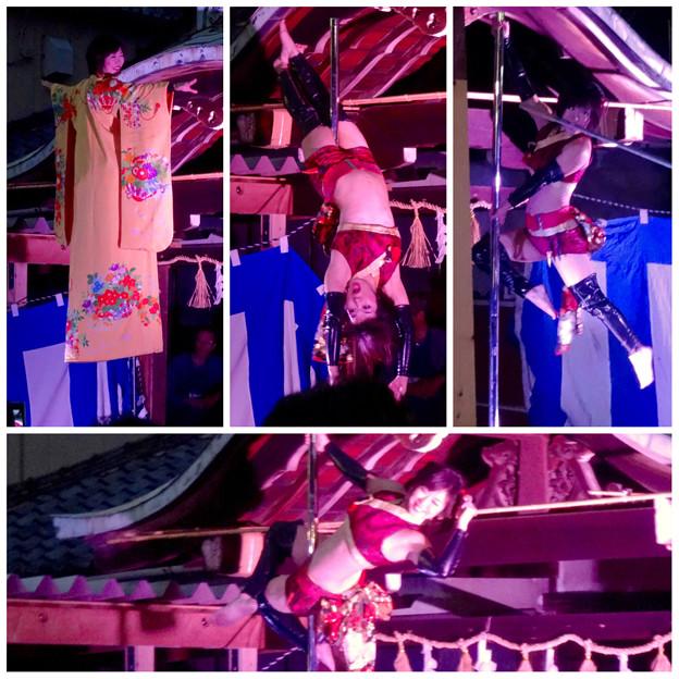 大須大道町人祭 2015 No - 165:ポールダンサー「鷹島姫乃」さんのパフォーマンス