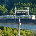 Photos: 愛知環状鉄道:庄内川を渡る鉄橋 - 4