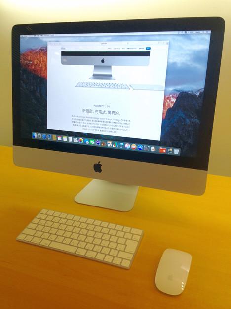 iMac 21.5inti Retina 4K