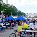 写真: 名古屋まつり 2015 久屋大通公園 No - 33:大勢の人で賑わう会場