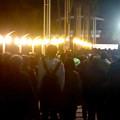 写真: 名港水上芸術花火 2015 No - 3:大勢の人で賑わう会場周辺