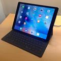 写真: Smart Keyboardを付けたiPad Pro