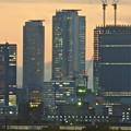 写真: エアポートウォーク名古屋から見た、夕暮れ時の名駅ビル群 - 3