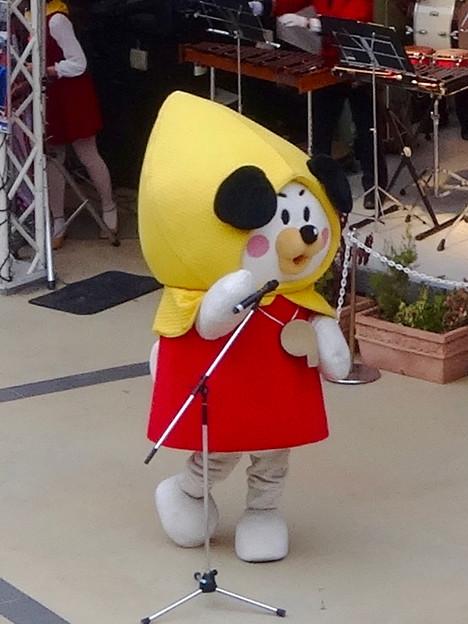 アスナル金山で「消防団PRイベント」 - 6:名古屋市の「防災・減災」啓発キャラクター「ジィジョ」