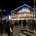 写真: 大勢の人で賑わう、週末の名古屋栄(名古屋ゼロゲート前)
