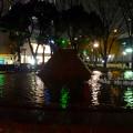 写真: 名古屋テレビ塔に向けてレーザー光線を出している、久屋大通公園噴水のピラミッド - 2