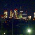 写真: 吉根橋から見た、夜の名駅ビル群 - 1