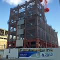 写真: ささしまライブ24:建設途中の愛知大学の新校舎 - 1