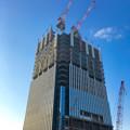 写真: ささしまライブ24:建設途中の複合施設「グローバルゲート」 - 3