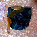 写真: 修理したDSC-WX300と同梱されてた交換した部品 - 2