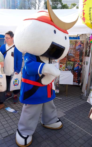 旅まつり 2016 No - 43:仙台のゆるキャラ「むすび丸」