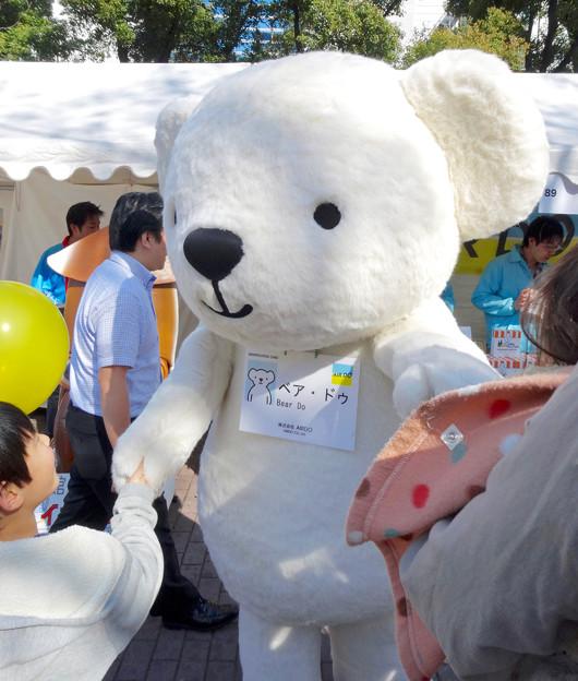 旅まつり 2016 No - 48:航空会社「AIR DO(エア・ドゥ)」のゆるキャラ「Bear Do(ベア・ドゥ)」
