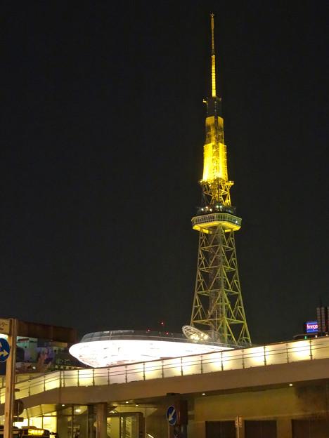オアシス21越しに見た名古屋テレビ塔 - 1
