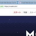 写真: Vivaldi 1.0:タブタイリング - 1(CmdやShiftでタブを選択)