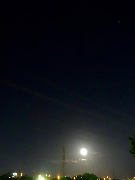 今夜は1年でもっとも小さい満月「ミニマムーン」(2016年4月22日) - 11:ミニマムーンと星々