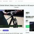 写真: Opera 37:「Kickstarter」も動画ポップアップ再生可能
