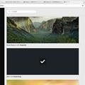 写真: Opera 37:UIが少し変わったテーマ管理ページ