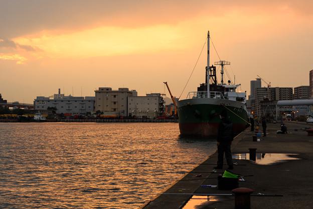 船のと夕刻