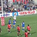 写真: 東芝×パナソニック_ラグビー_トップリーグ_2015年度_児玉選手_独走try