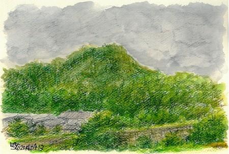 20140913高八山(雨)
