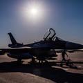 写真: F-2 シルエット