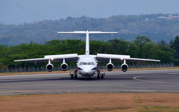 イギリス空軍 BAe-146 Avro RJ(ZE701)-3