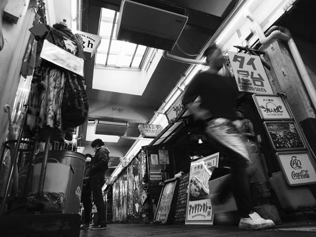 Photos: 走れ 店長