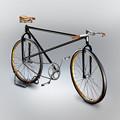 写真: 自転車の絵