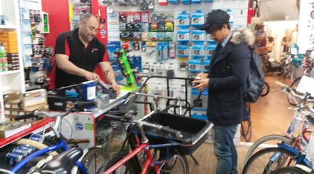 レスター自転車店