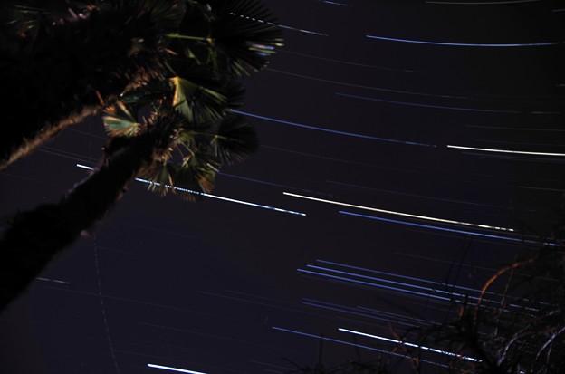 3月12日 比較明合成1621枚  南の空