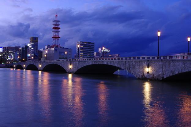 萬代橋夕景