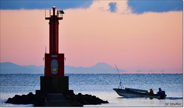 遠目の富士 151228